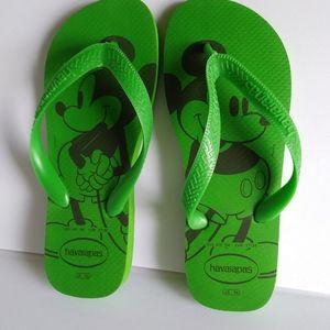 Havaianas Disney Mickey Flip Flops Sandal Size 6